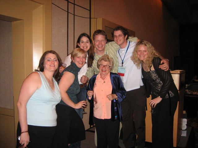 Dr. Ruth and the Dermatology Residents-Orlando Derm Conf...January, 2007