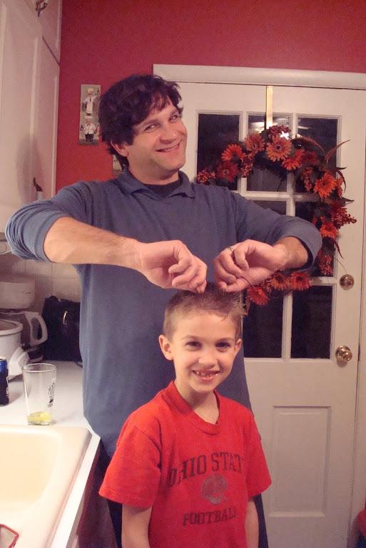 John and Jackson...Knoxville, TN-December 2007