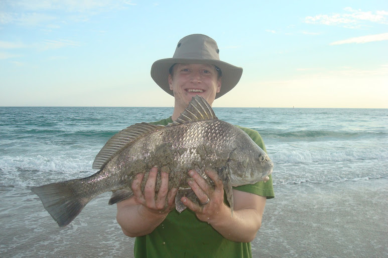 Sally's Big Catch...The Black Drum!!