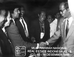 Bisnis Ikang Fawzi, Munas REI, bersama Meneg LH saat Itu Sarwono Kusumaatmaja