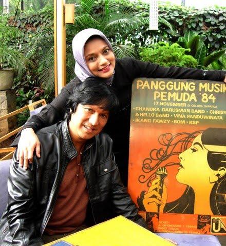 Istri Salah Satu Personil BIL Sedang Mengurus Suaminya, Marissa Haque for Ikang Fawzi