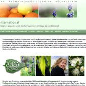 Meine Aromatherapie-Website<br>my website about aromatherapy