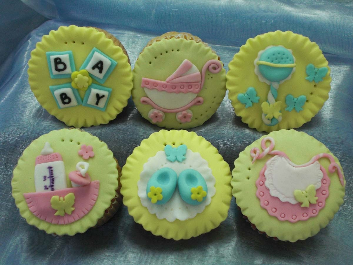 Cupcake Baby Shower Decorations
