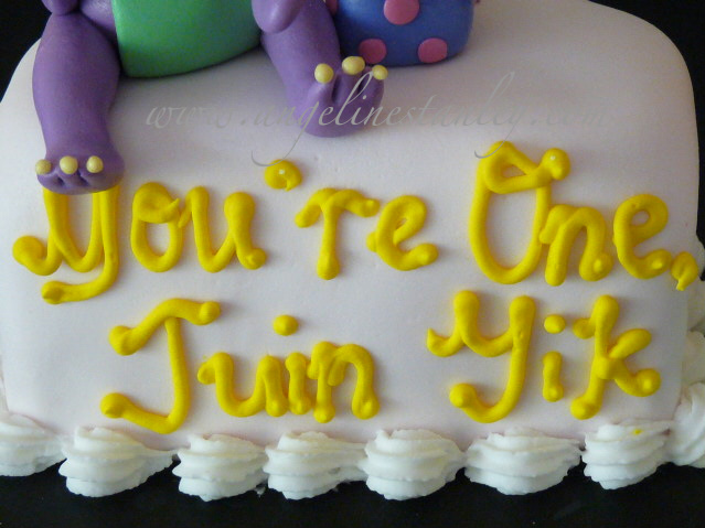 Cake Decorating Classes For 11 Year Olds : Heavenly Cake Creations: Barney & Friends On Number One Cake