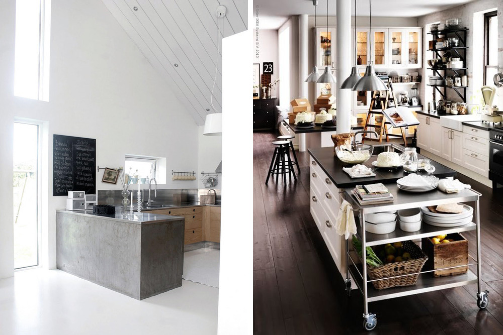 Dream Kitchens The Most Also More Then Any Other Room In My Opinion It Has To Blend Form And Function So Seamlessly The Kitchens Below In My Opinion