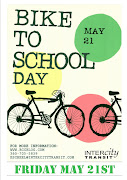 May 21st is Bike to School Day. Families and students tripled the number of .