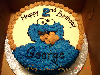 cookie monster cake. Cookie Monster Cake