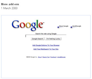 Google Home Page 2000