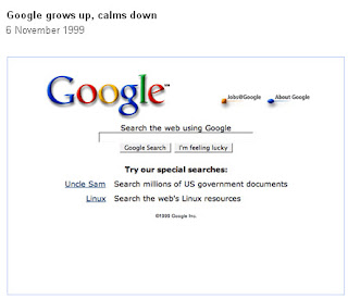 Google Home Page 1999