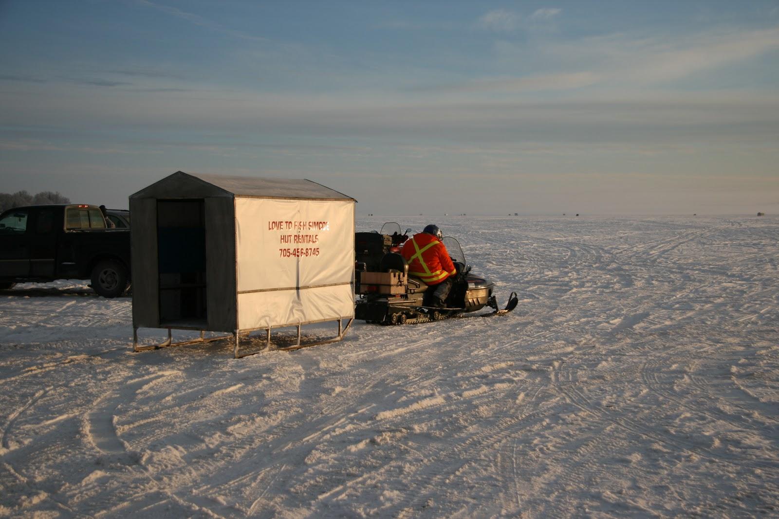 East of eden february 2011 for Ice fishing near me