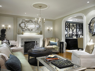 European Style-Luxury France Living room design