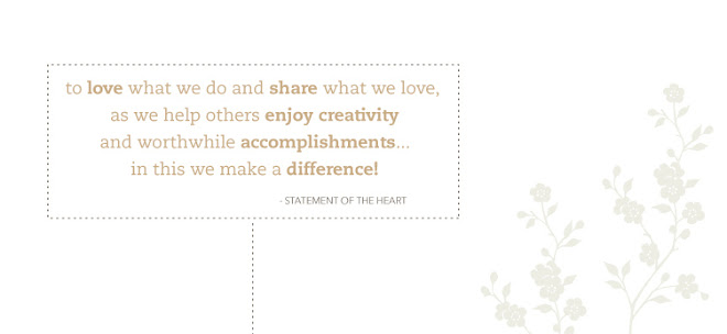 STATEMENT OF THE HEART...