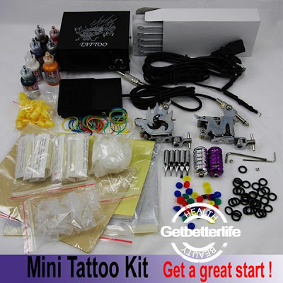 Tattoos machines have also been called tattoo guns. Cheap tattoo kits can