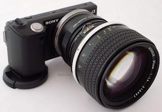 sony nex nikon g lens adapter