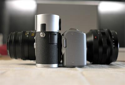 sony nex voigtlander 50mm nokton leica m8