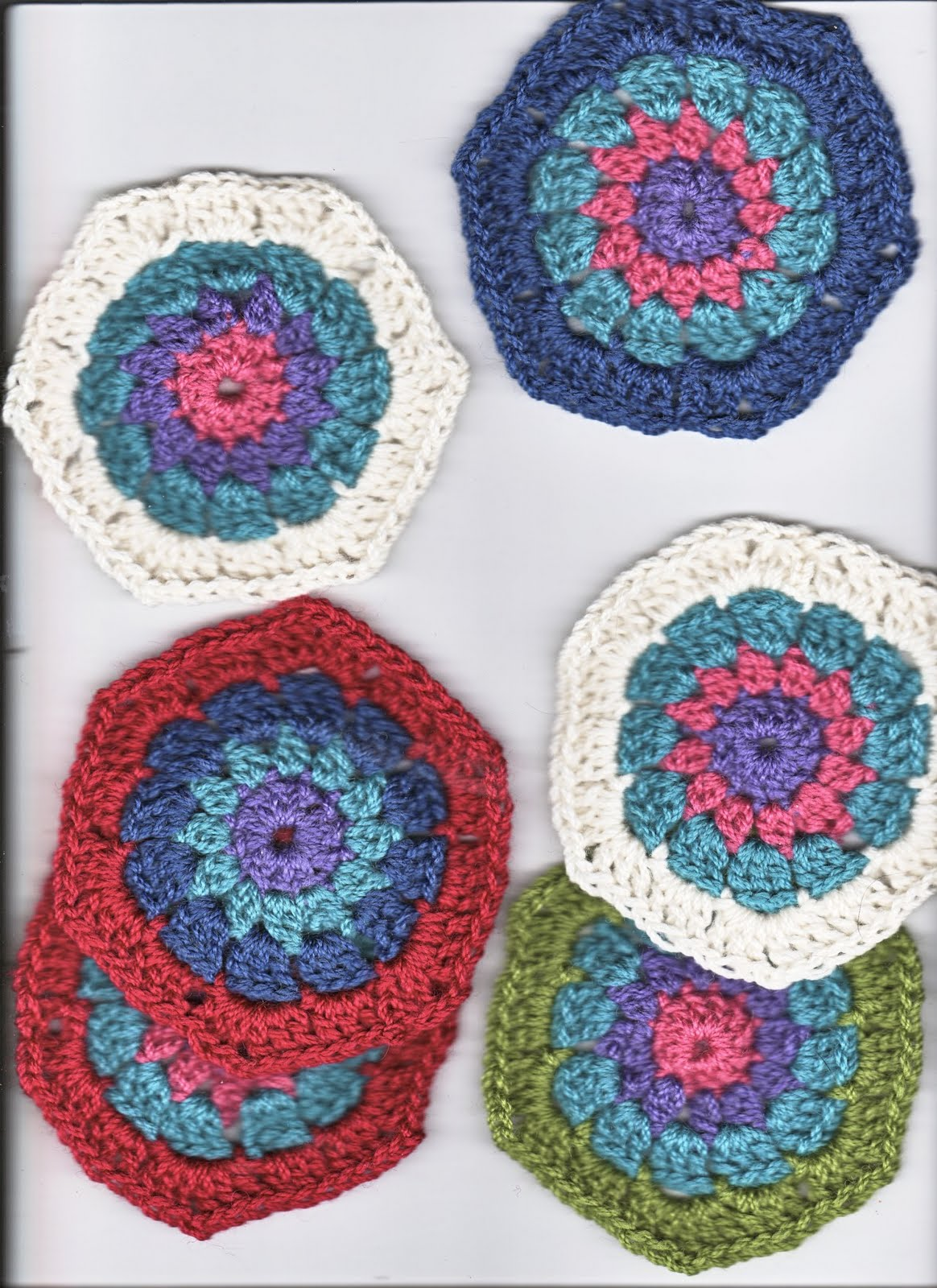 Crocheting Quilts : Arty Ladys blog: Crochet Hexagon Quilt