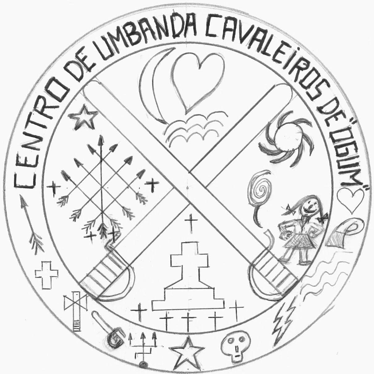 Excepcional Centro de Umbanda Cavaleiros de Ogum: Centro de Umbanda Cavaleiros  RZ52