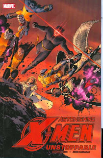 Astonishing X-Men, v. 4: Unstoppable cover