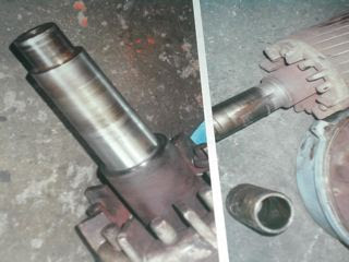 Compressors motor shaft repair for Electric motor shaft repair