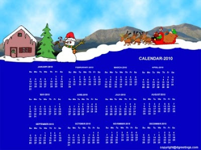 Desktop Calendar Wallpaper on Desktop Calendar 2010  New Year Calendar 2010   Beautiful Wallpapers