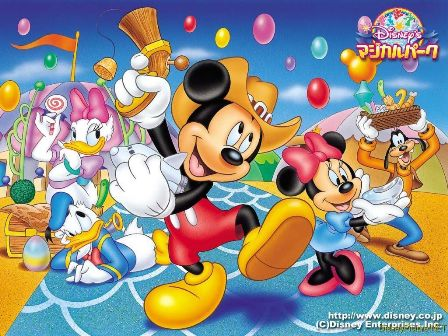 Cartoon Characters Mickey Mouse. disney cartoon characters