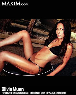Olivia Munn Maxim Magazine