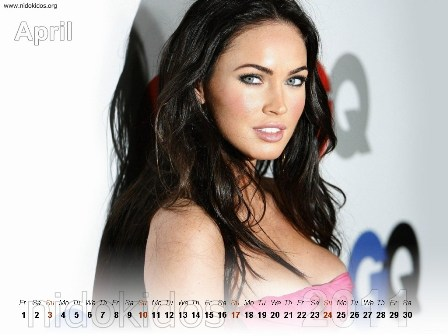 megan fox 2011 calendar. Megan Fox Calendar 2011