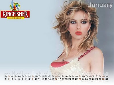Hot Girls Desktop Calendar 2011 Wallpapers1