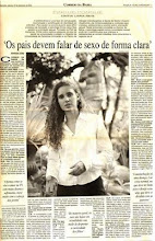 Cintia Liana no Jornal Correio da Bahia