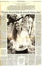 Cintia Liana no Jornal Correio da Bahia