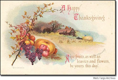 May all seasons be sweet to thee vintage thanksgiving greeting cards wednesday november 11 2009 m4hsunfo Choice Image