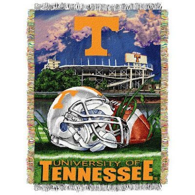 UT Vols Neyland football stadium blanket.