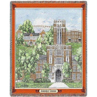 Ayres Hall blanket showing building on UT Vols campus.