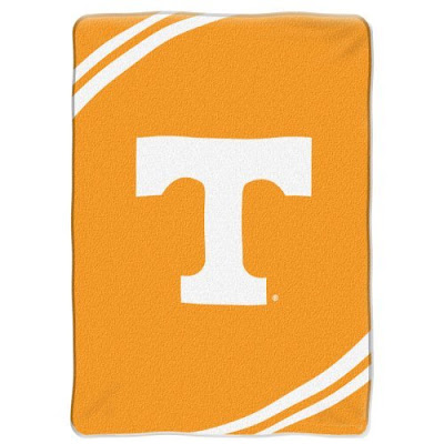 Large orange University of Tennessee blanket.