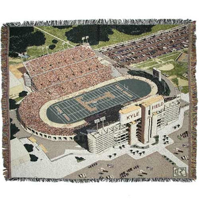 Kyle Field photo Texas A&M blanket.