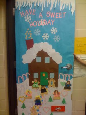 Way good day door decorating for 12 days of christmas door decoration