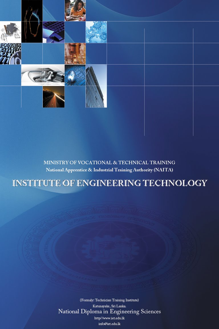 cover page for institute of engineering technology naita
