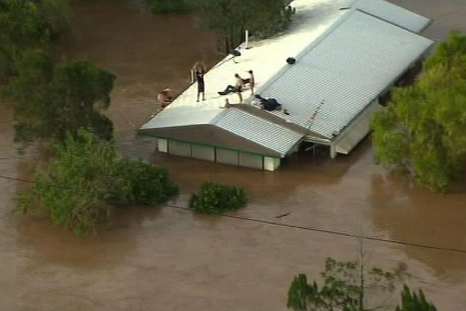 floods in Queensland are