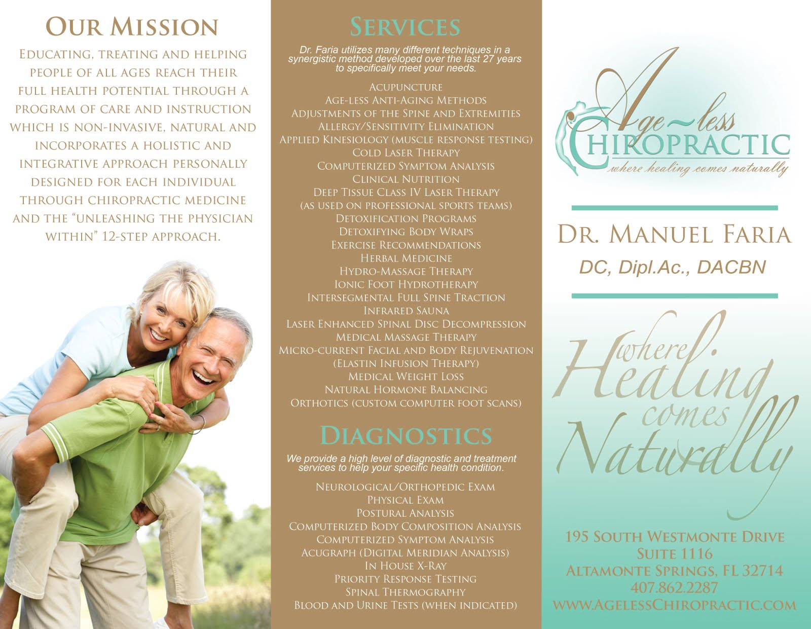 medical office brochure templates free .