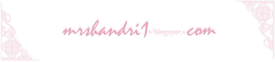 ✿ Mrs e's blog ~ Tiap Hari Sayanggg ✿