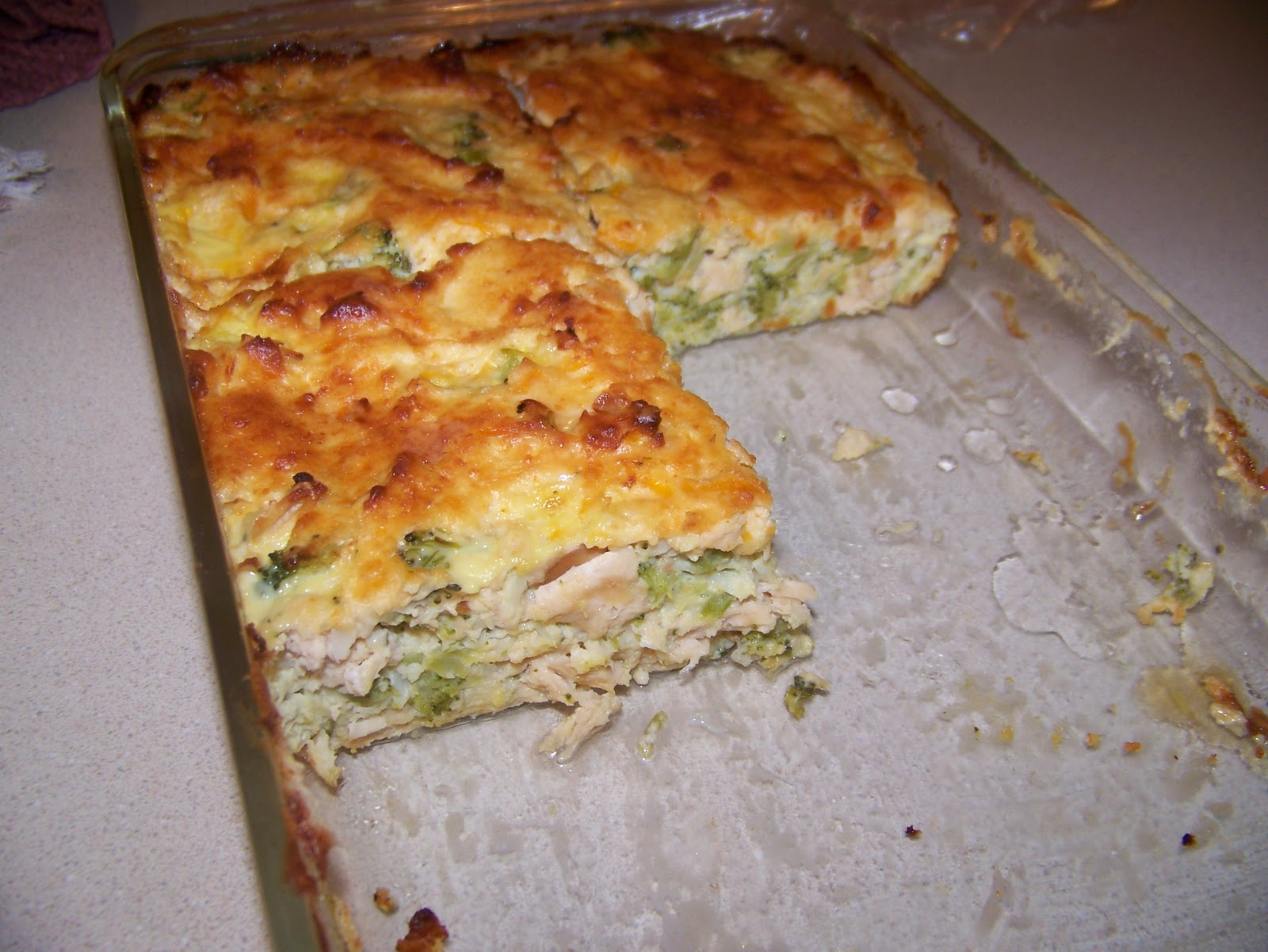 ... Low Carb Kitchen: Chicken and Broccoli Quiche with Parmesan Topping