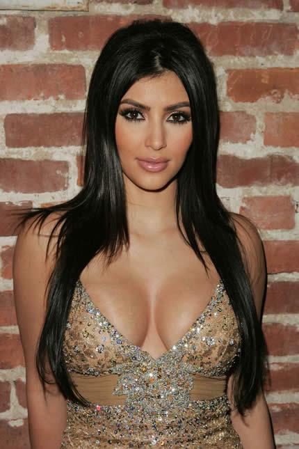 Kim Kardashian Sexy Hairstyle