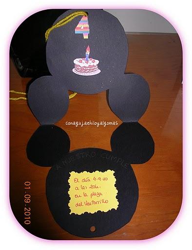 Las Tarjetas del Cumpleaños de mis Principes