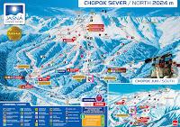 Chopok sí térkép