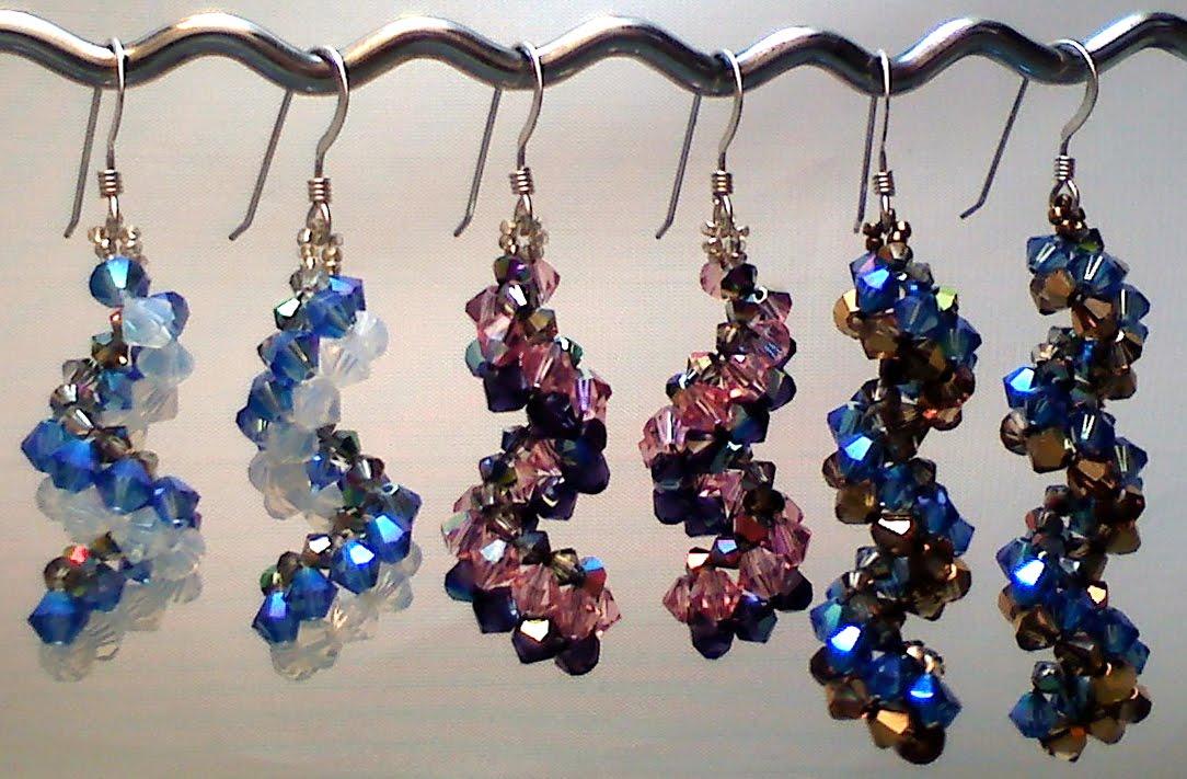 vertigo earrings pattern available the beading butterfly