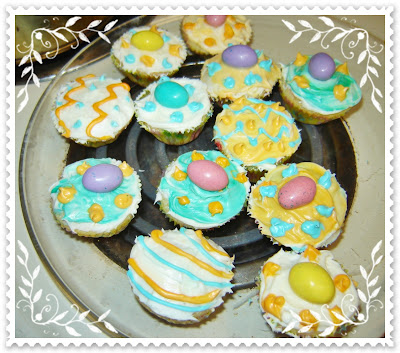 easter cupcakes pictures. Itsy Bitsy Easter Cupcakes