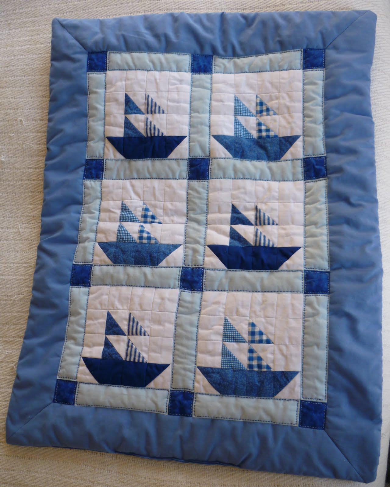 Amil creaciones colchas beb patchwork - Como hacer colchas de patchwork ...