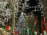 Christmas rockefeller tree NY