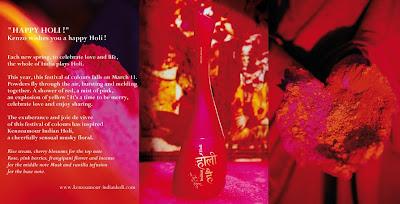 efa09802 Kenzo Amour Indian Holi, a perfume