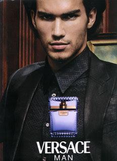 Versace Man Perfume da Rosa Negra top model Bruno Santos